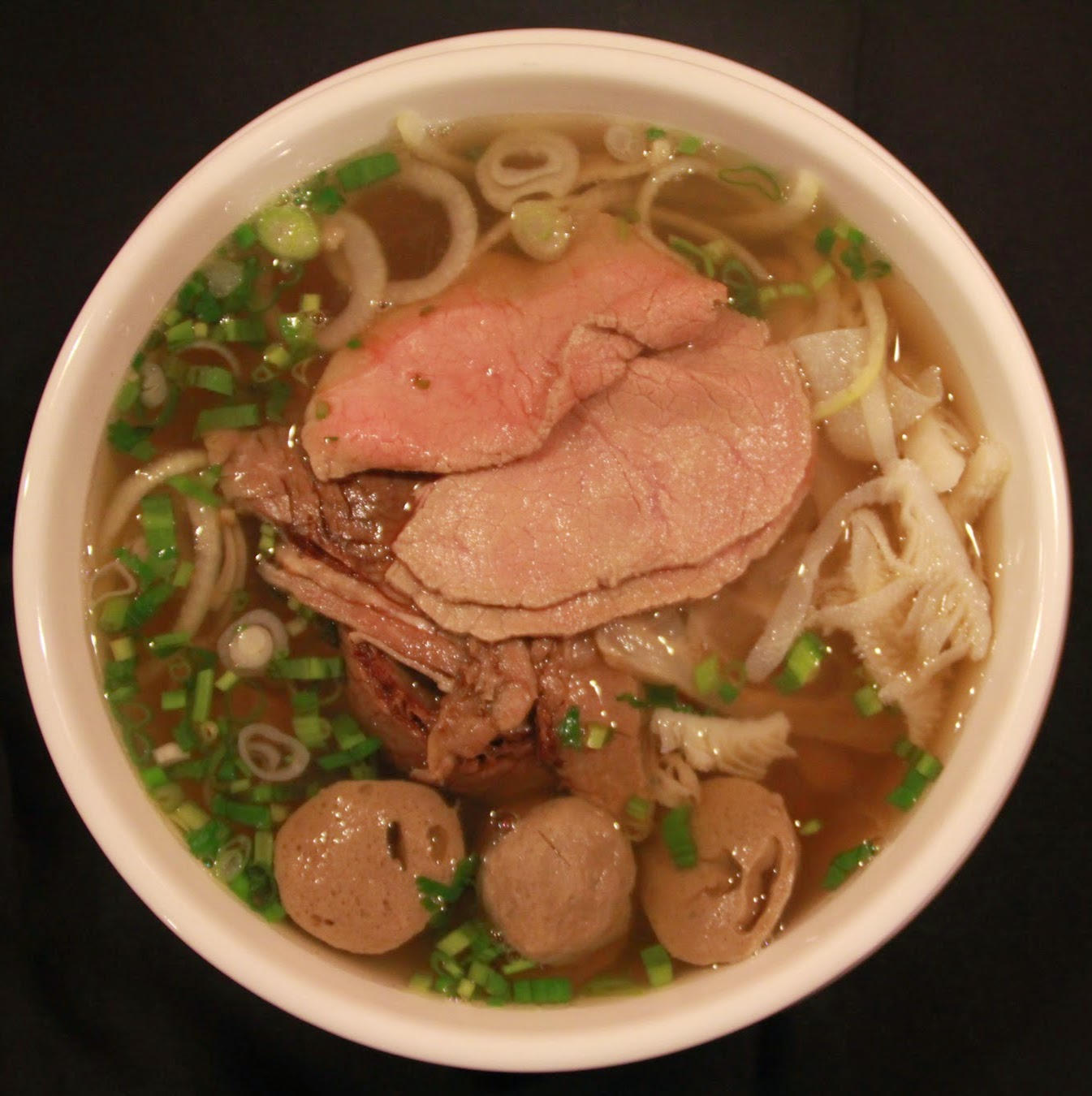 Deluxe Beef Noodle Soup